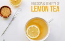top benifits of lemon tea